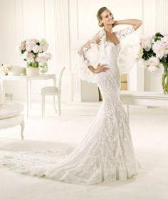 cfb1deb9 Vestidos de novia de aire flamenco   Preparar tu boda es facilisimo.com