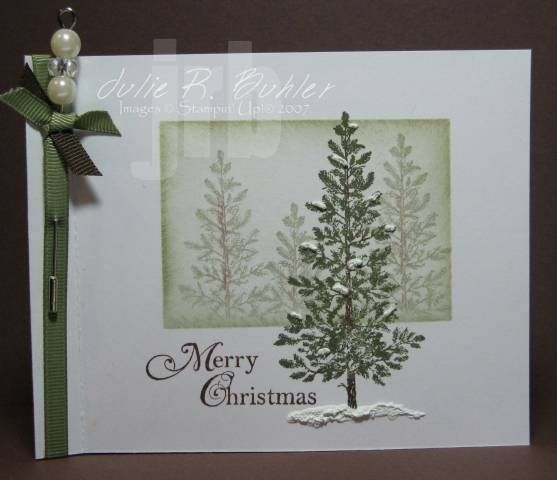 inspiration stampin-up-cards Christmas Delight Pinterest Cards