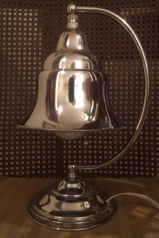 Antique chrome art deco adjustable table desk lamp 115 high antique chrome art deco adjustable table desk lamp 115 high totally rewired greentooth Gallery