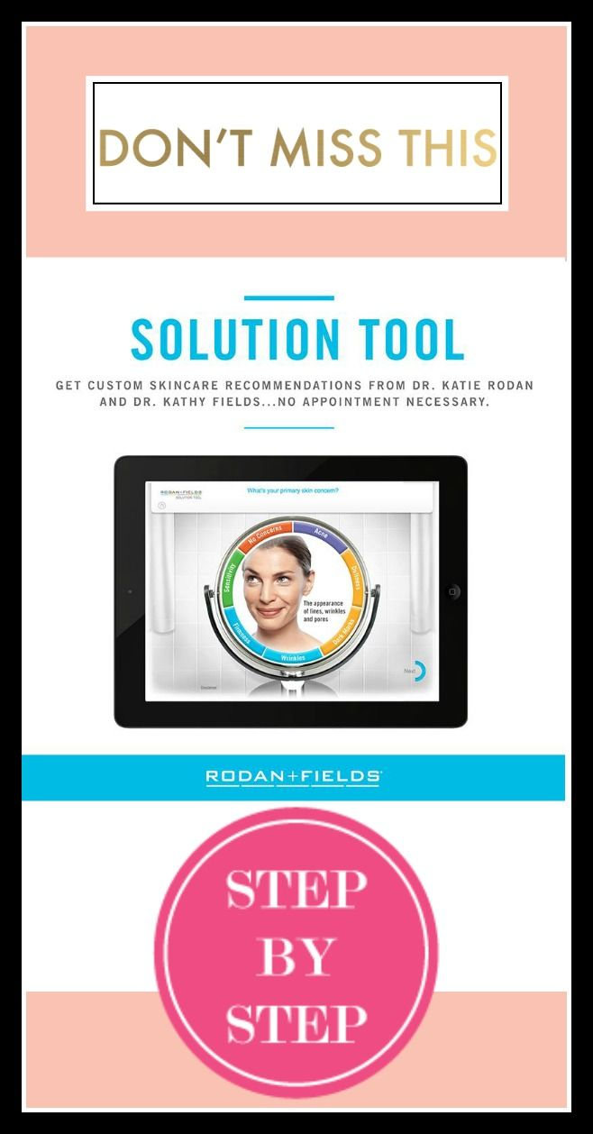 Click through the quick Solution Tool to see which regimen is best suited to your skin: https://bebrilliant.myrandf.com/Pages/OurProducts/GetAdvice/SolutionsTool