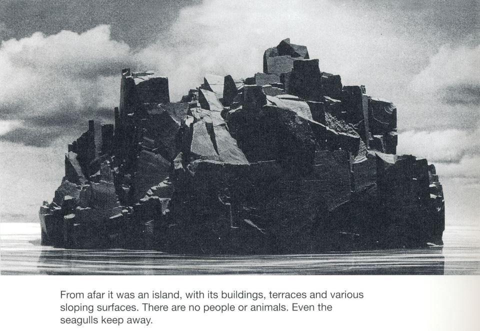 From afar it was an island - Bruno Munari
