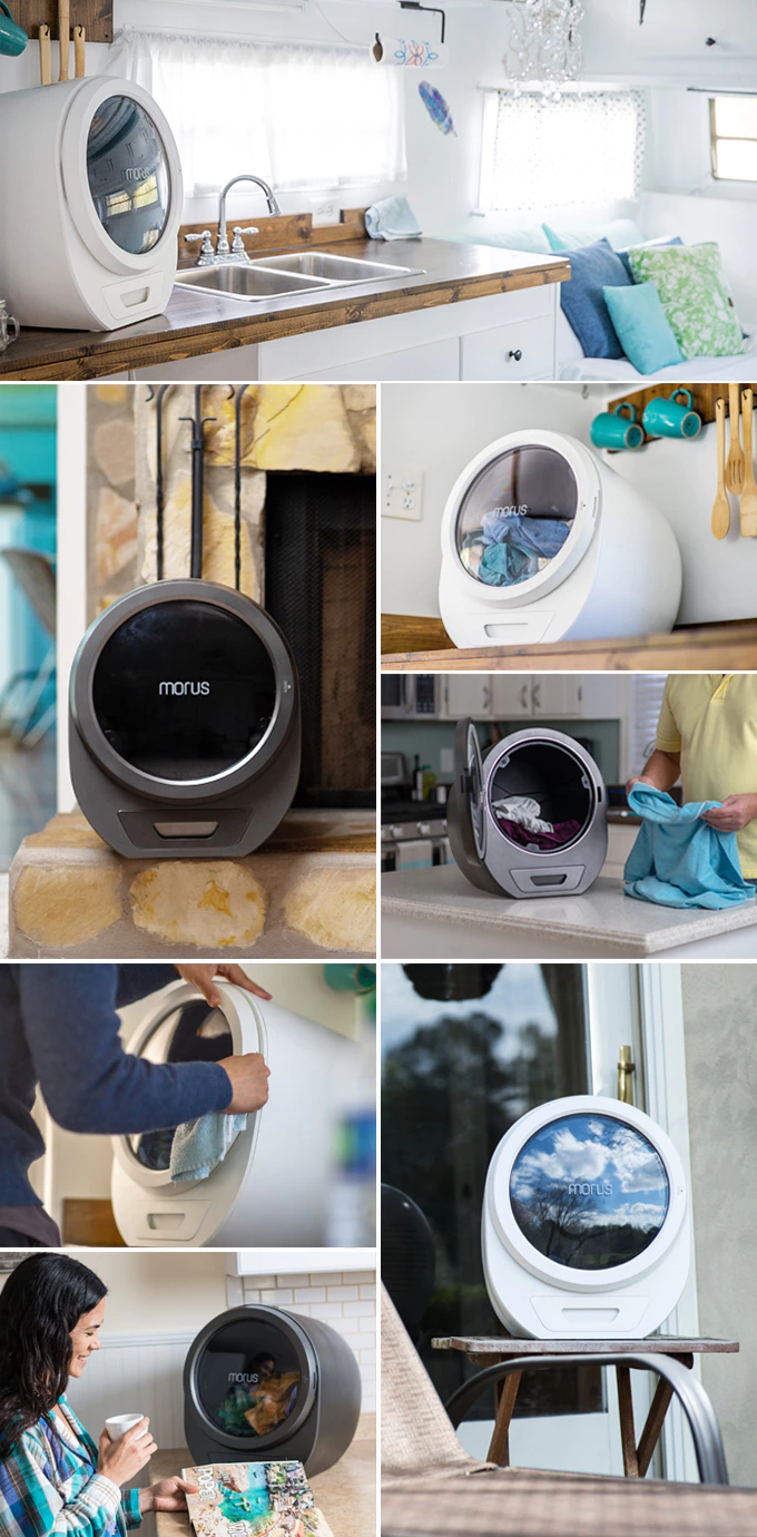 Morus Zero Ultra Fast Countertop Tumble Dryer For Any Home By