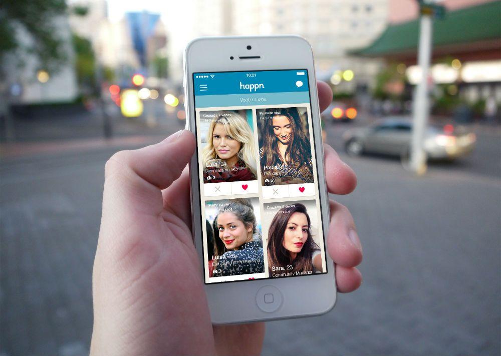 Usuário do Happn agora tem acesso ao acervo do Spotify e pode trocar música com o pretendente.  .