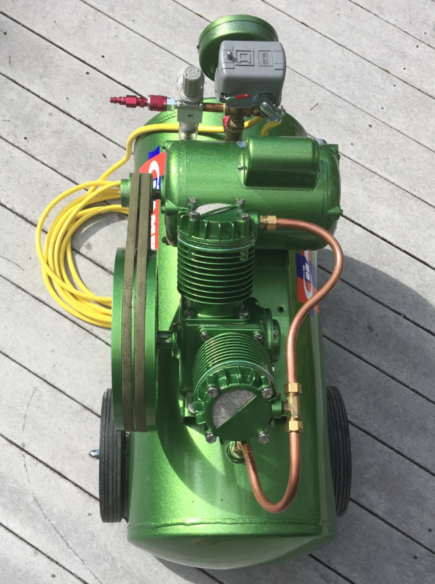 Champion Air Compressor Restoration Compresor de aire