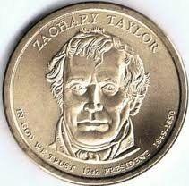 2009 D Presidential Dollar Zachary Taylor BU Clad US Coin