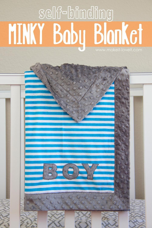 self binding blanket instructions