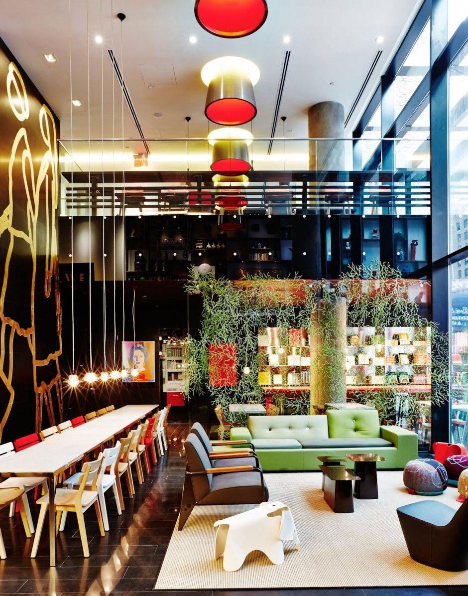 Travel The CitizenM Hotel Times Square By Concrete - Citizenm london bankside by concrete architectural associates