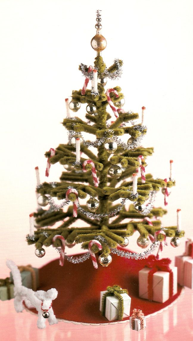 Pipe Cleaner Christmas Tree Pipe Cleaner Crafts Pinterest