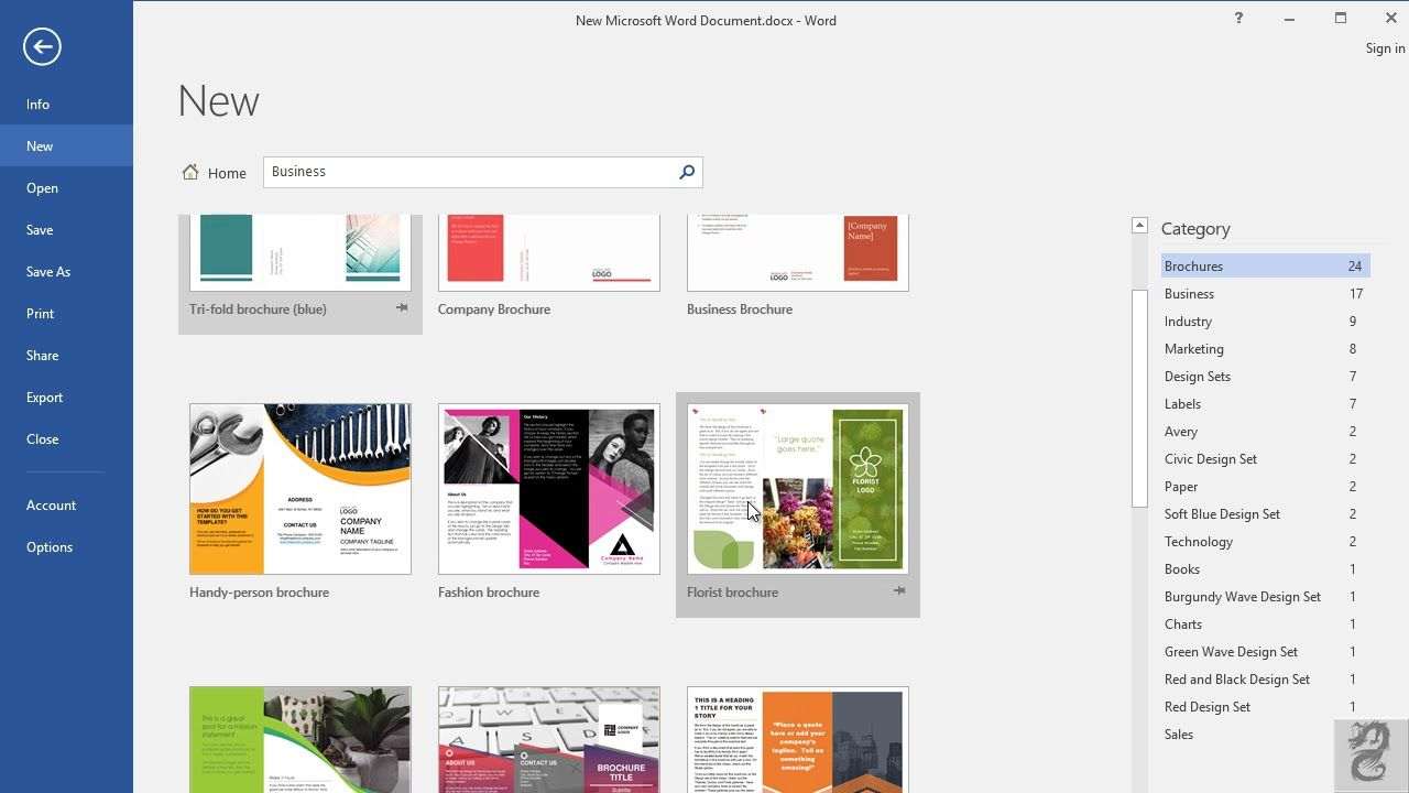 How To Make A Brochure In Microsoft Word 2016 Inside Office Word Brochure Template Professional Temp How To Make Brochure Brochure Template Pamphlet Template - ms word pamphlet template