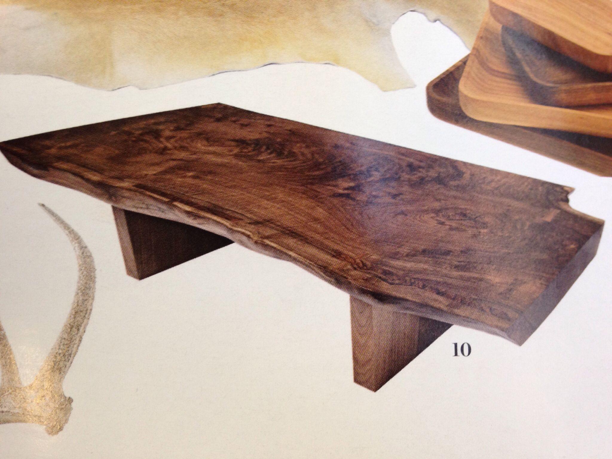 live edge coffee table by hudson furniture Hudson