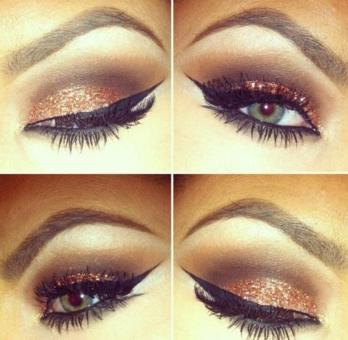 love it!!! Used to do eyeliner like this more often when I was younger. Should be more adventurous!