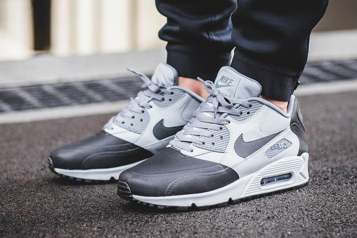 nike air max 90 - mens anthracite\/anthracite\/cool grey\/black pumps