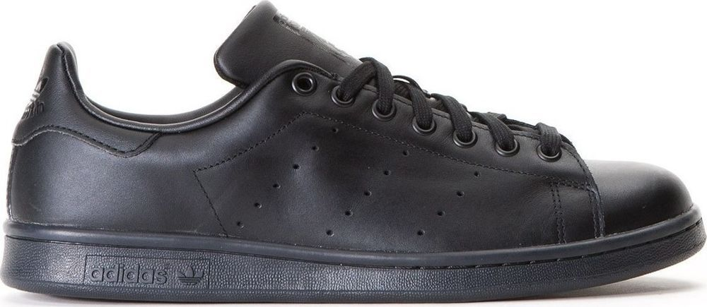 Adidas Originals Stan Smith para hombre formadores m20327 negro originales