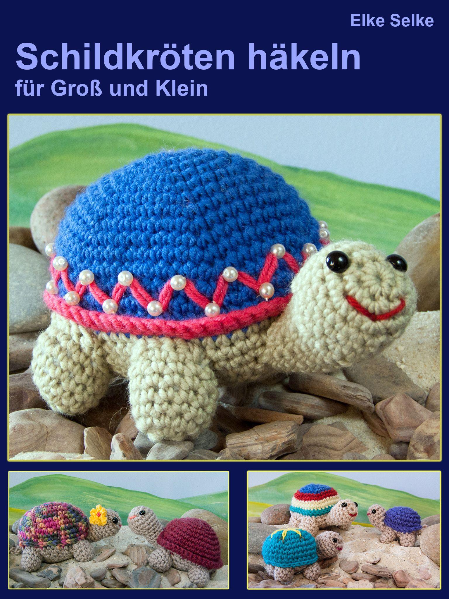 Schildkröten häkeln für Groß und Klein, e-book, erscheint im Januar 2016
