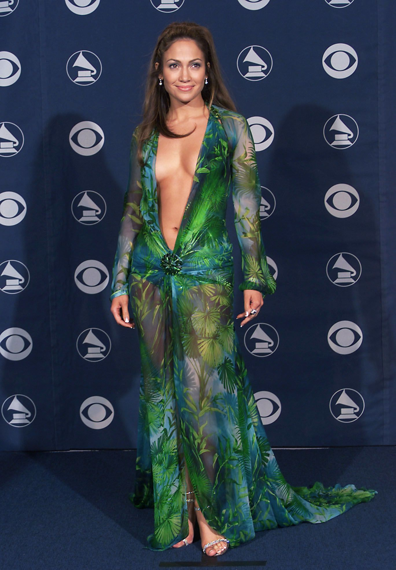 The 30 Dresses That Put These Hollywood Stars On The Map Grammy Fashion Grammy Dresses Iconic Dresses [ 1969 x 1369 Pixel ]