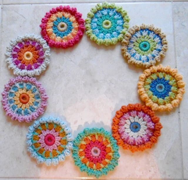 Susan Pinner: ANOTHER RULE OF 12 PATTERN: 2011 BOBBLE STITCH HEX ...