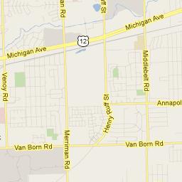 Detroit In Usa Map.Springwells Township Wayne Michigan Usa Google Maps Township