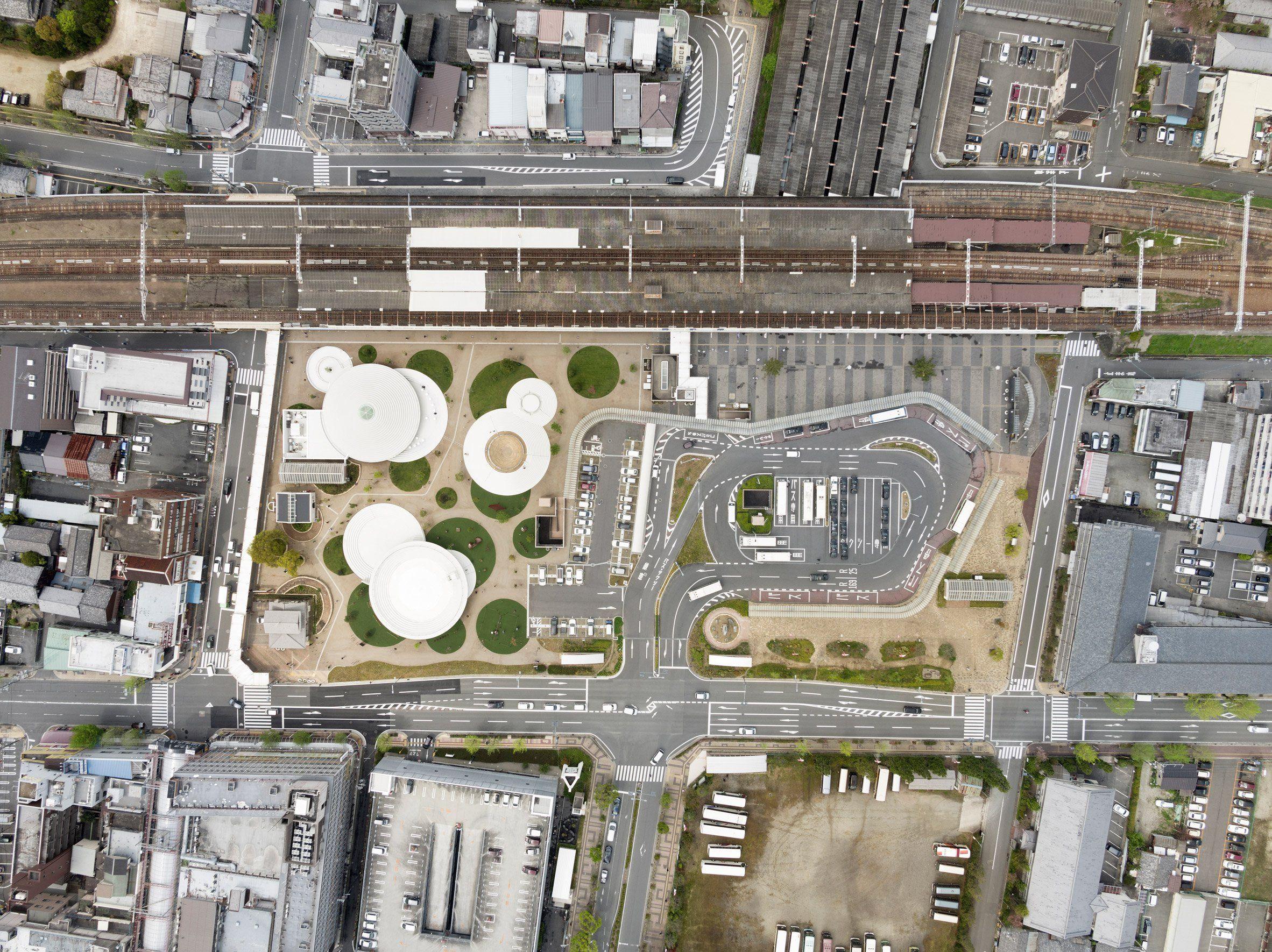 Prolific Japanese Design Studio Nendo Has Now Moved Into Urban Design,  Unveiling Its Massive CoFuFun Plaza Near Kyoto.