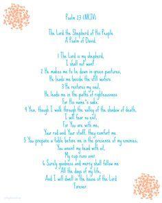 image regarding Psalm 23 Printable identified as Psalm 23 Absolutely free Printable Ichthammol report Psalm 23, Psalms