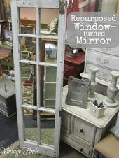 Photo of #Finds #mirror #Mirrorfinds #Repurposed # shutters repurposed Aluminium