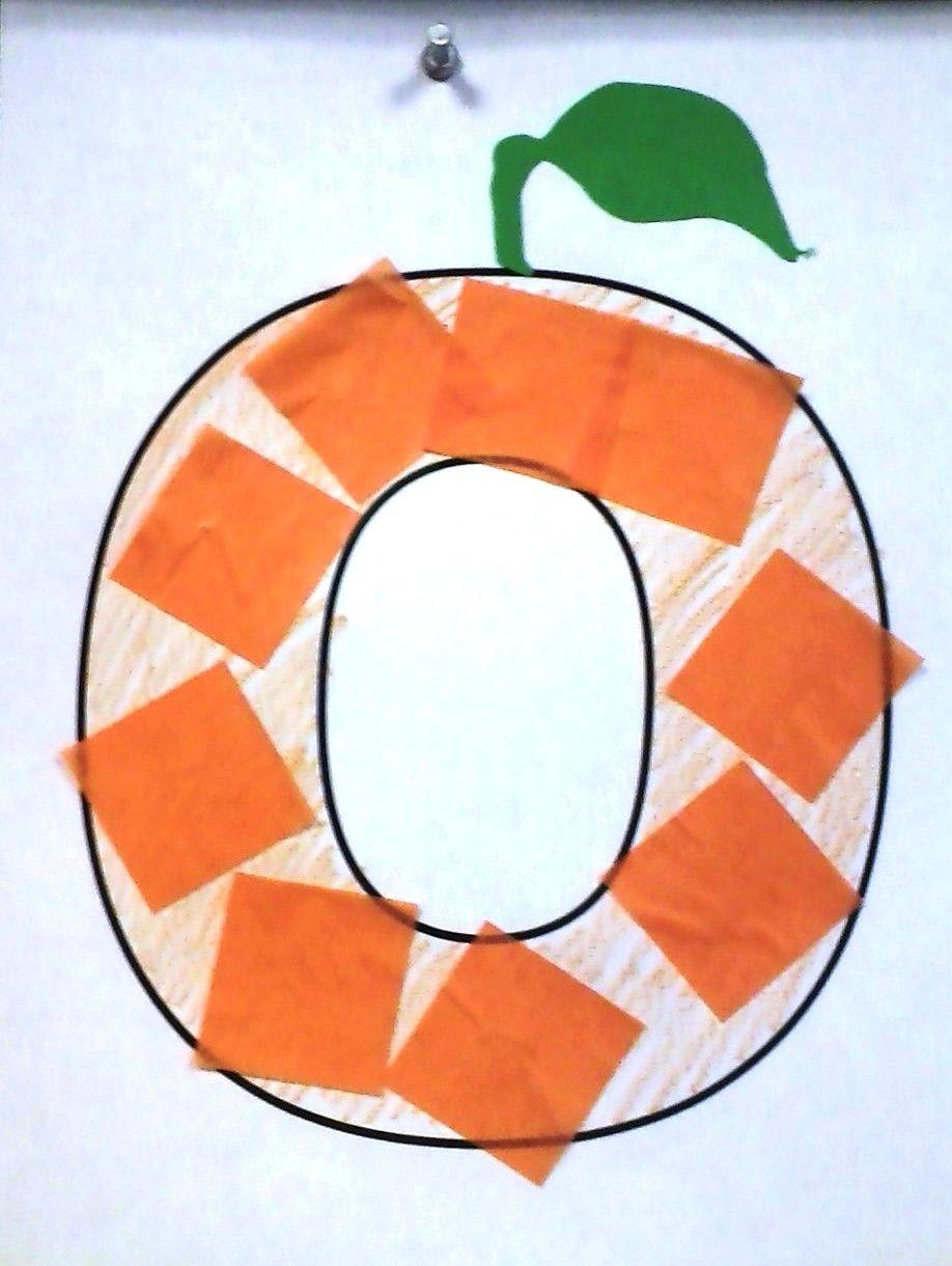 O is for Orange | Crafts  Alphabet | Preschool letter crafts