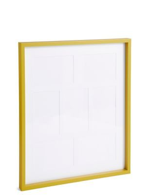 7 Aperture Photo Frame 4 X 6 Inch 10 X 15cm Yellow Aperture Photo Frame Aperture