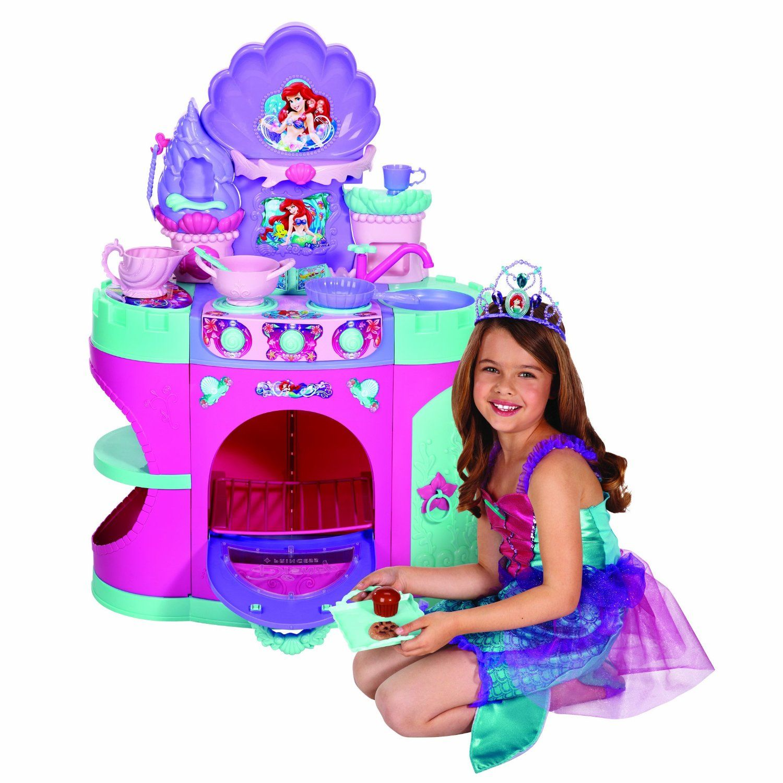 Amazon Com Disney Princess Magical Mermaid Kitchen Toys