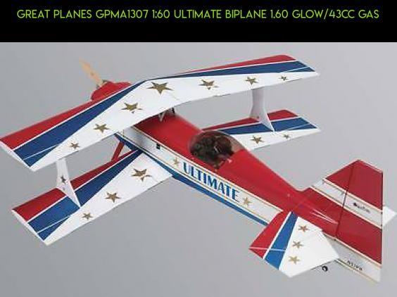 Great Planes GPMA1307 1:60 Ultimate Biplane 1 60 Glow/43cc