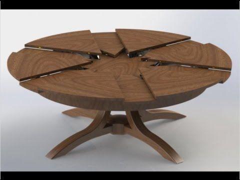 Easy Coffe Table Smart Furniture Youtube Ronde Tafel Tafel