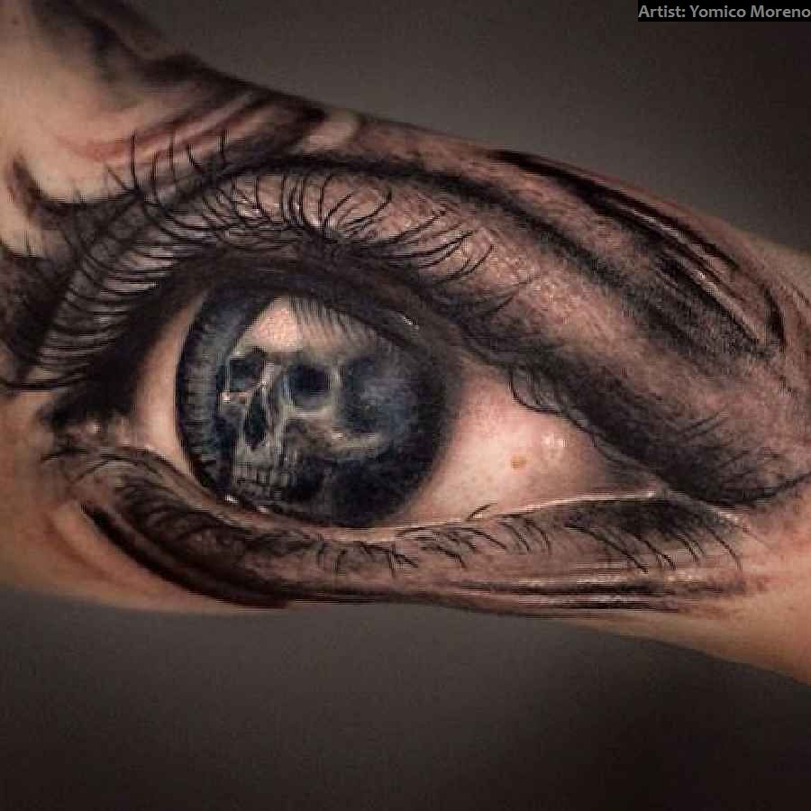 40 Crazy Skull-Tattoos | Tattoo ideen, Auge und Tattoo auge