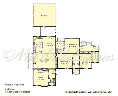 la ferme main floor plan storybook house plans from new south classics storybook cottage house plans