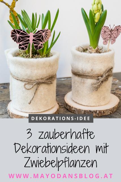 3 Zauberhafte Dekorationsideen Mit Zwiebelpflanzen Fur Den Fruhling Pflanzen Dekorationsideen Idee