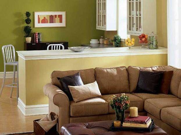Colori pareti: come dipingere le pareti di un soggiorno piccolo ...