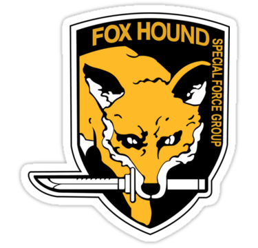 Metal Gear Solid Foxhound Symbol By Brenden Bencharski Stickers Of