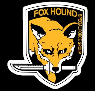 Metal Gear Solid Foxhound Symbol By Brenden Bencharski