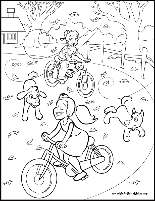 Download Two Children Playing In The Park Or Print Two Children - Coloring  Home Coloring Pages, Coloring Pages For Kids, Coloring For Kids