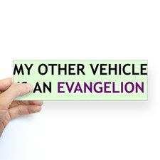 """My Other Vehicle"" Bumper Sticker for"