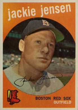 Baseball Cards Jensen Set Name 1959 Topps Card Size 2
