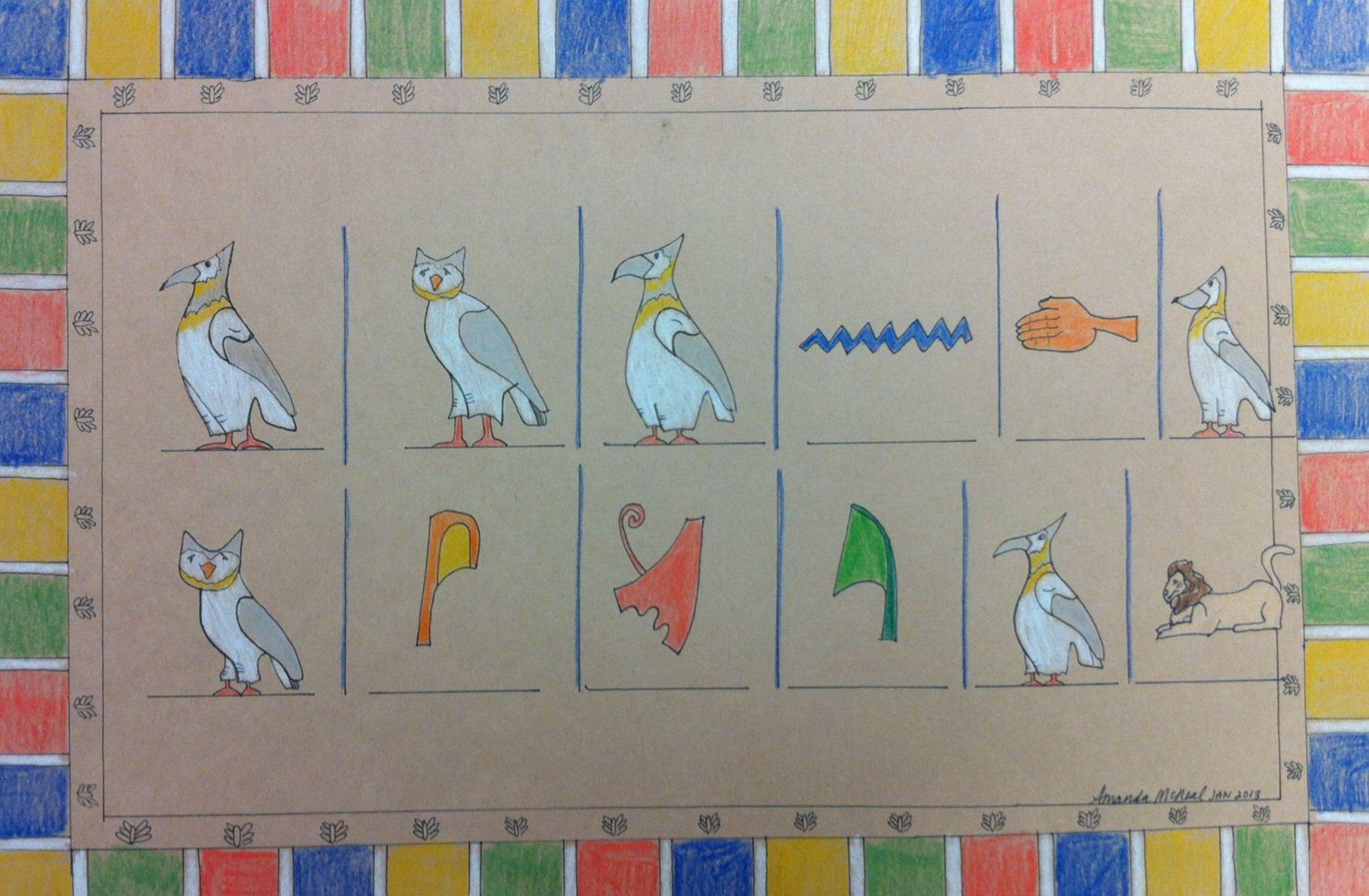 Ndms Mcneals Art Class Teacher Example Of Names