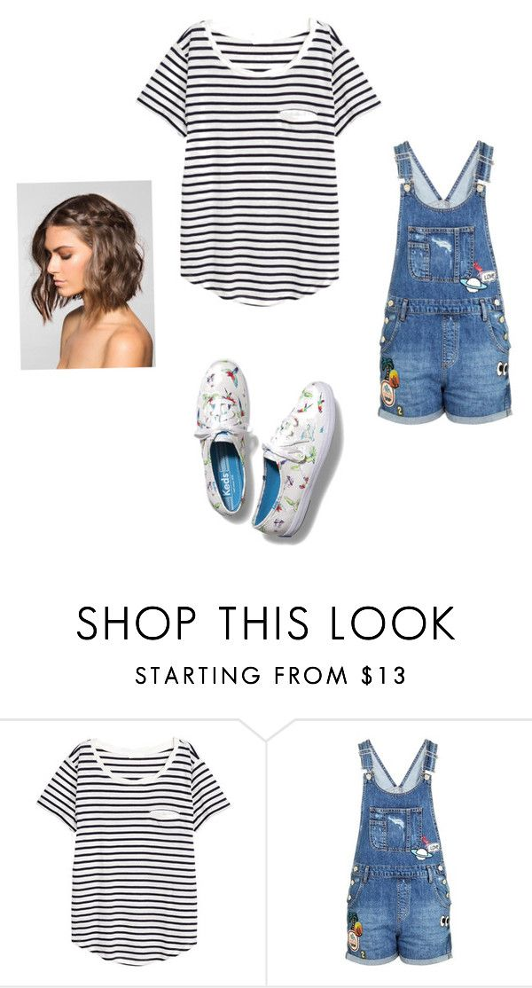 """""""Untitled #77"""" by lyles03 on Polyvore featuring H&M, Topshop and Keds"""