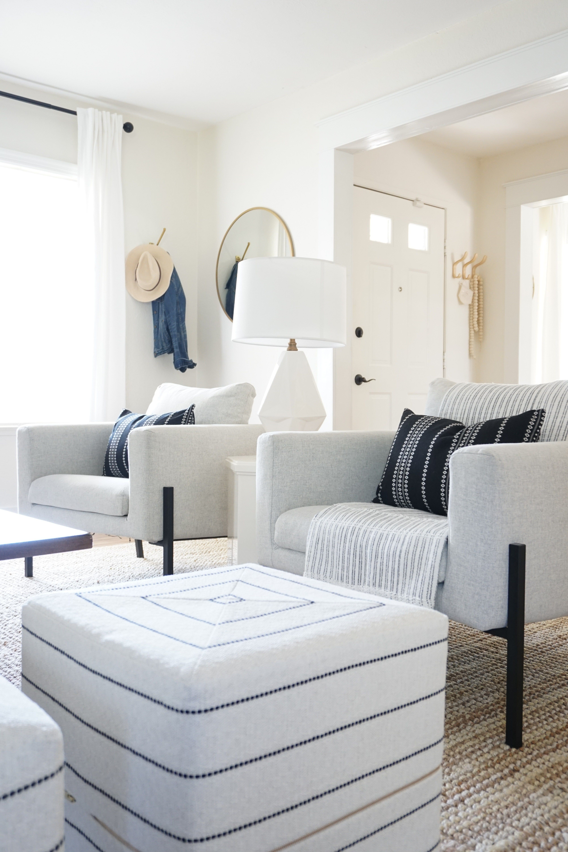 A Fresh Global Inspired Living Room Coastal Living Rooms