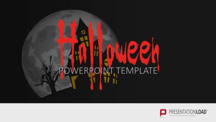 Free Powerpoint Templates With Spooky Halloween Designs At Http