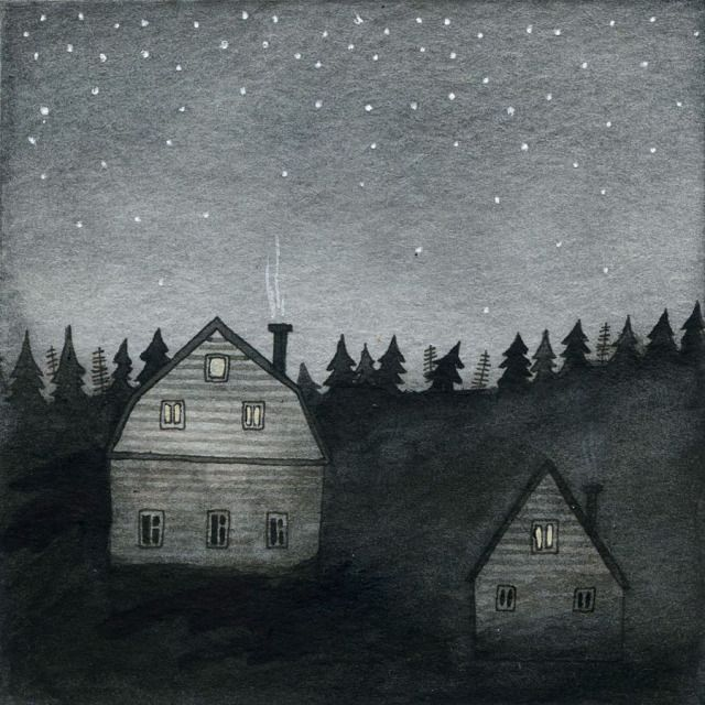 why i adore the night ~ artist Yelena Bryksenkova #journal