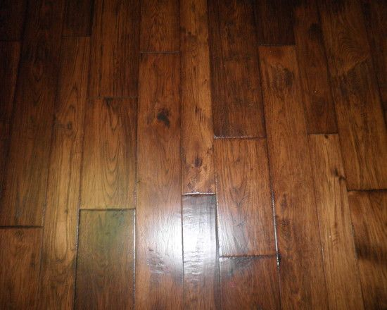 Hickory Flooring With Diffe Widths