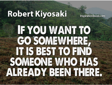 Inspirational Quotation by Robert Kiyosaki Motivation, success, inspiration, business, personal development, business, quote