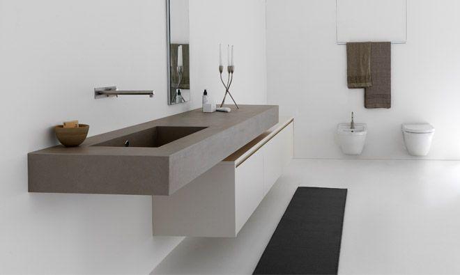Meuble de salle de bain suspendu en céramique Kerlite MB3 TWENTY