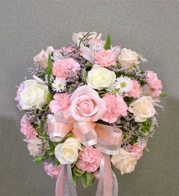 This Except With Light Purply Roses Bridal Carnation Rose Bouquet Valley Florist San Jose