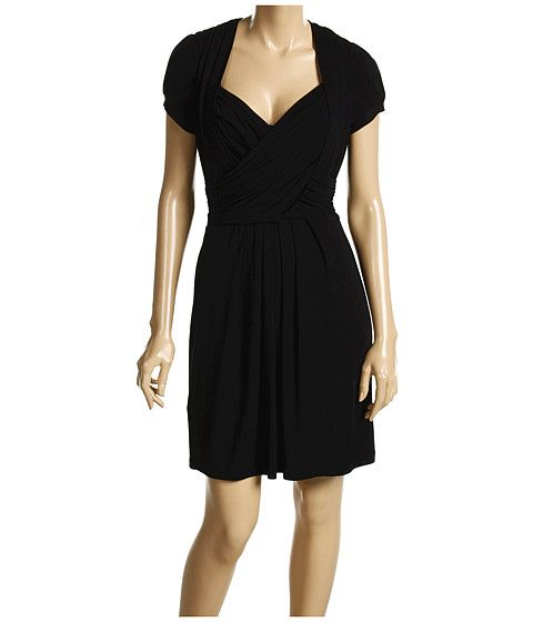 Wrap dress with sweetheart neckline <3
