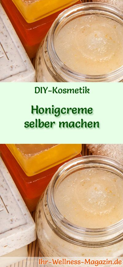 honigcreme selber machen rezept und anleitung wimpern pinterest gesichtscreme selber. Black Bedroom Furniture Sets. Home Design Ideas