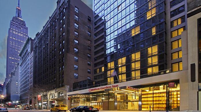 Hilton Garden Inn New York/Midtown Park Ave Hotel, NY   Hotel Exterior